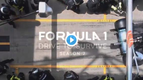 VIDEO: Netflix toont nieuwe trailer F1-serie 'Drive To Survive