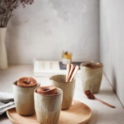 Snickers style mug cake