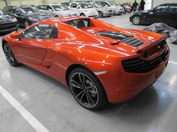 Financiën verkoopt McLaren-sportwagen voor 87.600 euro