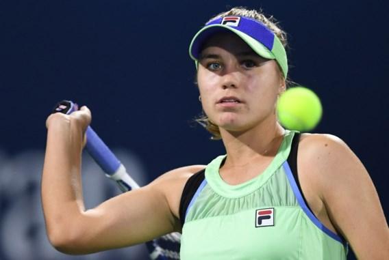 Australian Open-winnares Sofia Kenin meteen uitgeschakeld in Dubai