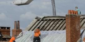Minder goedkope bouwvakkers op de werf