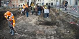Fundamenten Katelijnepoort blijven dankzij vondst bewaard
