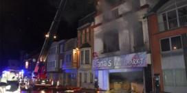 Man overleden bij brand in fruitwinkel in Ninove