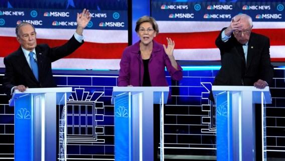 Warren geeft Bloomberg volle laag in Las Vegas