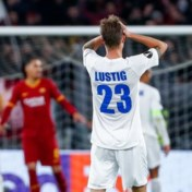 AA Gent loopt nipte nederlaag op in Rome