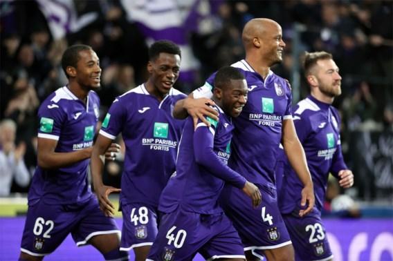 Anderlecht haalt ouderwets uit tegen Eupen