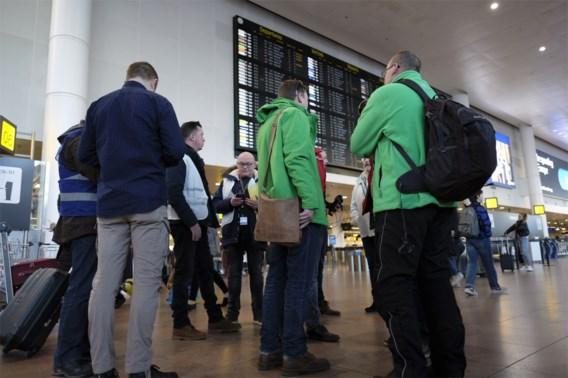 Nauwelijks hinder door Stiptheidsacties op Brussels Airport