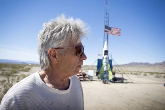 Amerikaanse waaghals sterft na crash met zelfgemaakte raket
