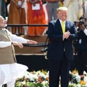Trump pakt uit (en worstelt) met uitspraak van Indische namen