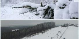 Hoe zeldzaam is sneeuw in ons land?