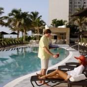 Eíndelijk rust op vakantie, zo zonder die kinderen