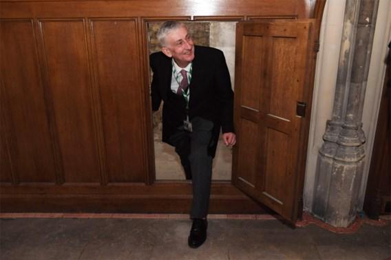 360 jaar oude kamer herontdekt in Brits parlement