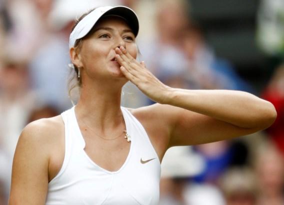 Maria Sharapova (32) zet punt achter tenniscarrière