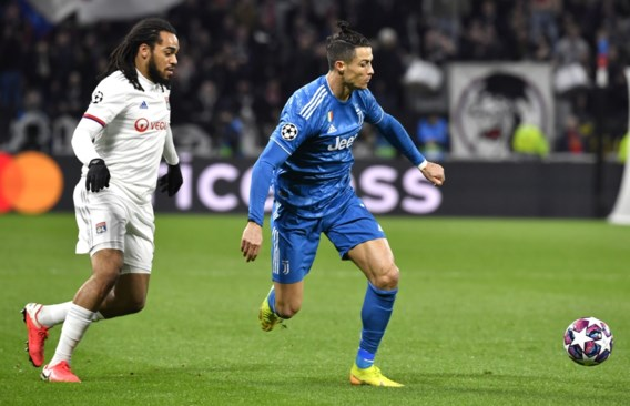 Denayer houdt Ronaldo en Juventus in bedwang met Lyon