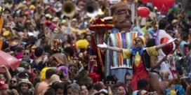 Samba vermengt zich met protest in Rio