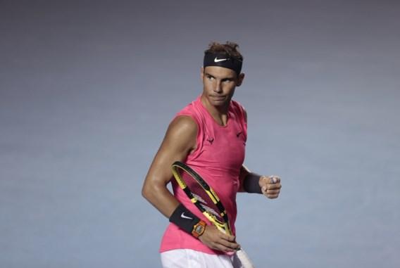 Nadal wint bij terugkeer, titelhouder Kyrgios geeft op in Acapulco