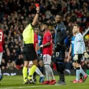 Club Brugge kansloos tegen Manchester United na vroege rode kaart