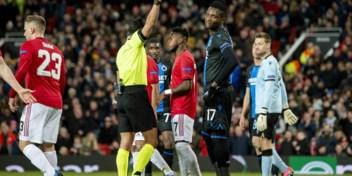Brugge kansloos tegen Man United na vroege rode kaart