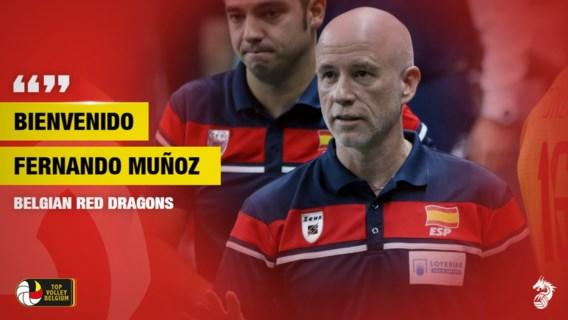 Spanjaard Fernando Munoz volgt Dominique Baeyens op als coach van Red Dragons