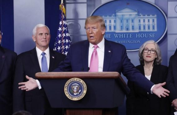 Trump ziet weinig gevaar in nieuw coronavirus: 'Het is zoals de griep. En we zijn goed voorbereid'
