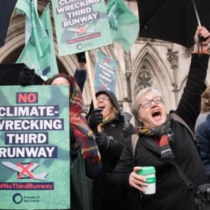 Heathrow botst op klimaatakkoord