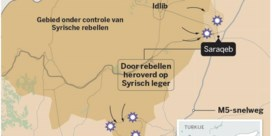 Vluchtelingen willen meteen terug naar heroverde thuisstad Saraqeb