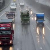 Trucks voortaan geflitst bij inhalen tijdens regenweer