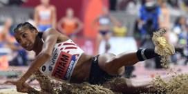 Nafi Thiam breekt Belgisch record verspringen indoor drie keer na elkaar