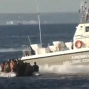 Beelden van harde optreden Griekse kustwacht tegen vluchtelingen