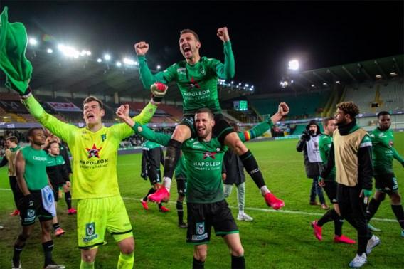 Cercle is na zege tegen AA Gent bijna gered