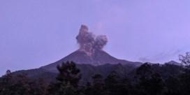 Een van de gevaarlijkste vulkanen in de wereld barst uit