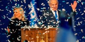 Netanyahu wint verkiezingen, maar haalt net geen meerderheid