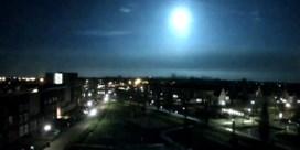 Gezien vannacht: felle lichtflits in België en Nederland