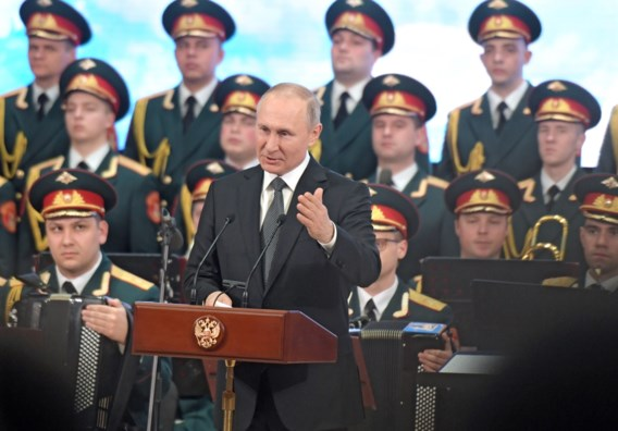 Poetin wil homohuwelijk verbieden in grondwet