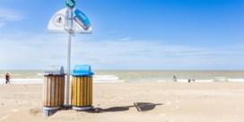 Afvaleiland voor proper strand