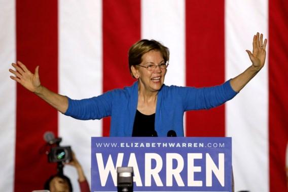 Hoelang houdt Elizabeth Warren deze race nog vol?