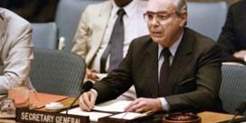 Oud-secretaris-generaal VN Javier Perez de Cuellar overleden