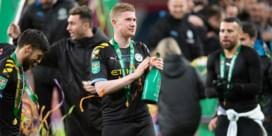 De Bruyne heeft last van de schouder en is onzeker voor Manchester Derby