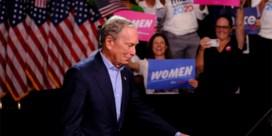 Bloomberg zo goed als out: poen bleek niet voldoende om te winnen