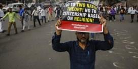 'Gemengde wijk in Delhi is nu een spookstad'