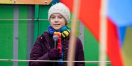 3.400 klimaatbetogers stappen met Greta Thunberg door Brussel