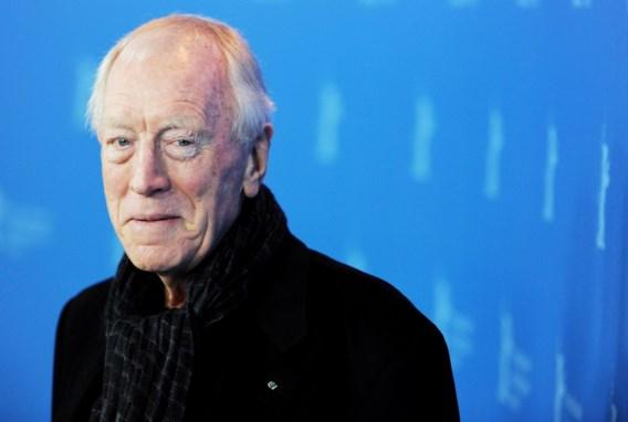 Acteur Max von Sydow overleden