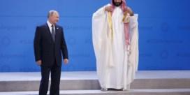 Poetin of MBS, wie knippert eerst met ogen?
