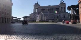 Italië in lockdown: verlaten pleinen en lege cafés