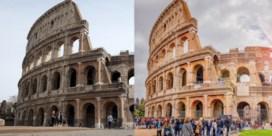 Rome voor en na de lockdown