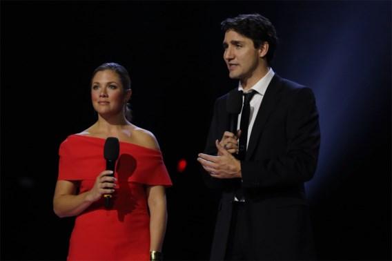 Vrouw Trudeau besmet met corona, premier vrijwillig in quarantaine