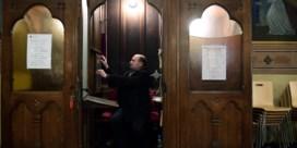 Grenzen toe, maar de kerk blijft open