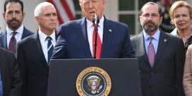 Trump roept noodtoestand uit door coronavirus
