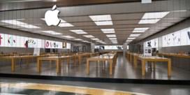 Apple sluit alle winkels buiten Chinese regio door nieuw coronavirus