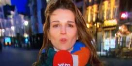 Man die VTM-journaliste kuste tijdens live-uitzending, is opgepakt